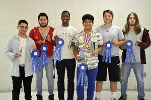 Precision Machine students win STATE blue ribbons