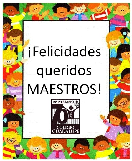 ¡Felicidades, maestros! Featured Photo