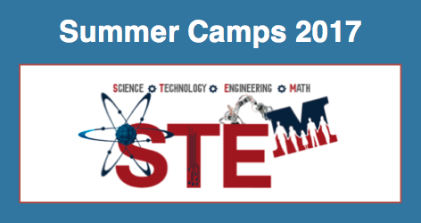2017 Summer STEM Camps . . . SAVE THE DATE Featured Photo
