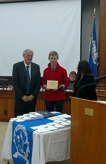 Ben DeMoras Yates County Distinguished Youth Award Winner Featured Photo