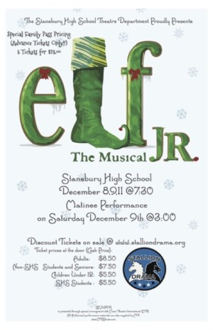 Elf Jr., the Musical poster