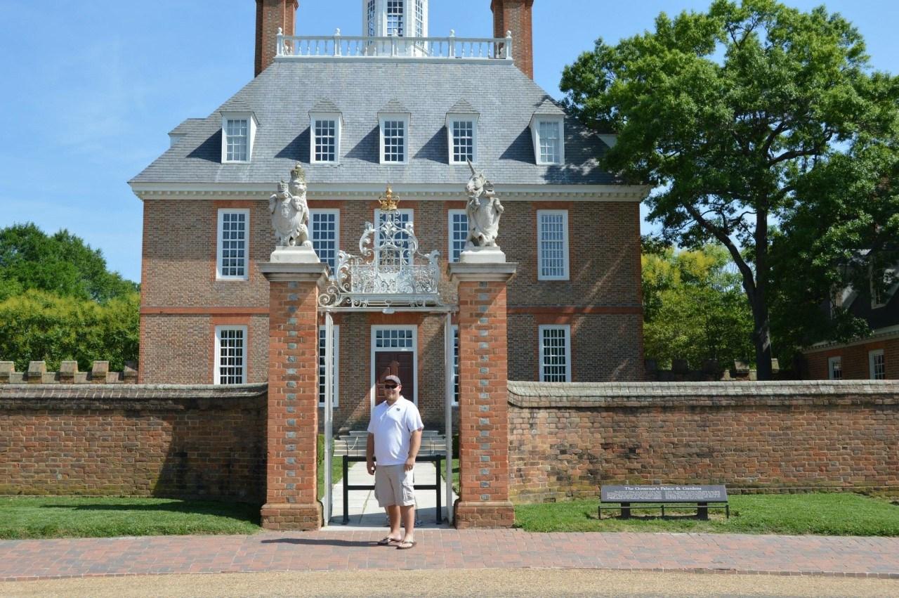 Gov.'s Mansion at Williamsburg Virgina