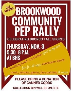 Brookwood Community Pep Rally