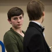 Lily Goodwin at All-State Fesitval