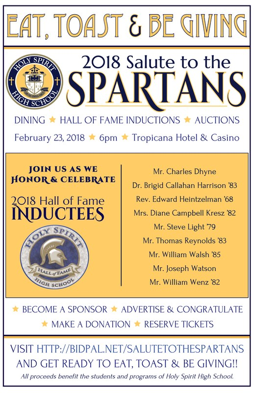 SALUTE TO THE SPARTANS ~ February 23, 2018! Featured Photo