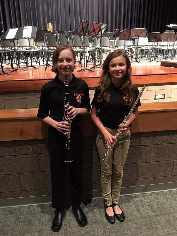 Kniffen, Pagel selected for SCIBA Honor Band Thumbnail Image