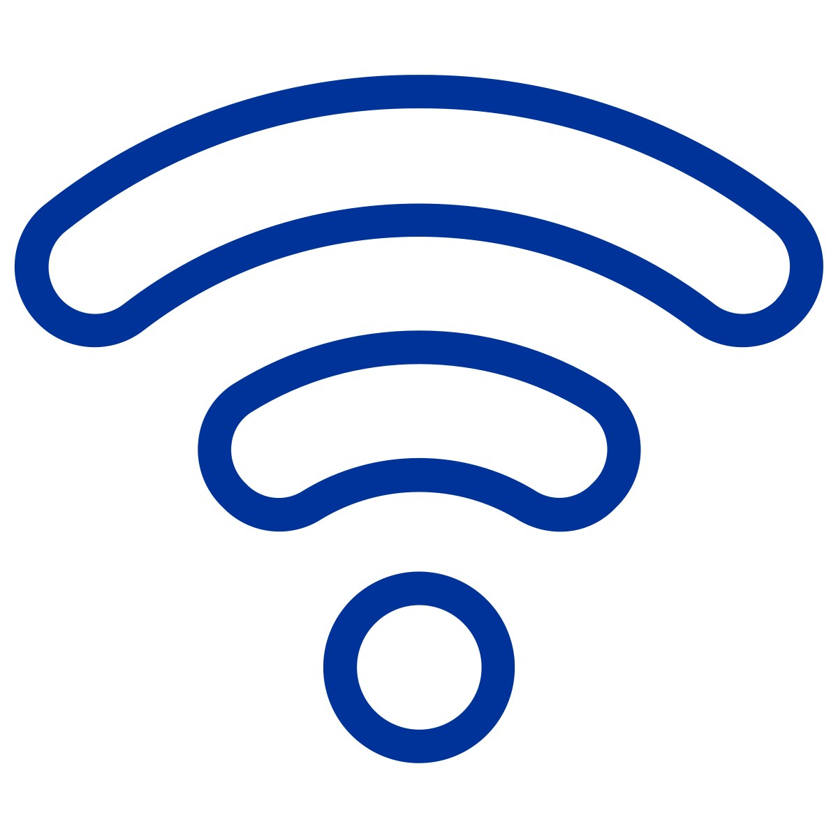 Technology Wifi icon