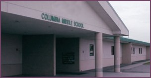 columbia middle school entrance