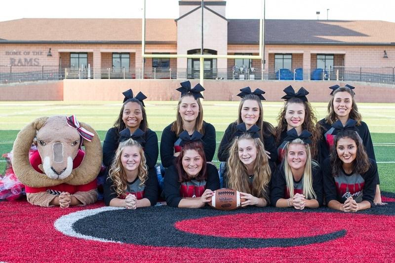 Varsity Cheer Team