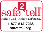Safe 2 Tell button