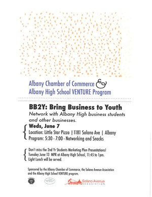 AHS Venture Program: Bring Business to Youth Event 6/7/17 at 5:30 p.m.