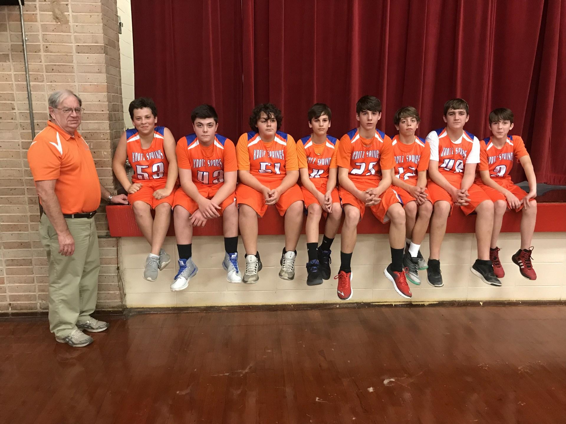 Varsity Team Group Pic
