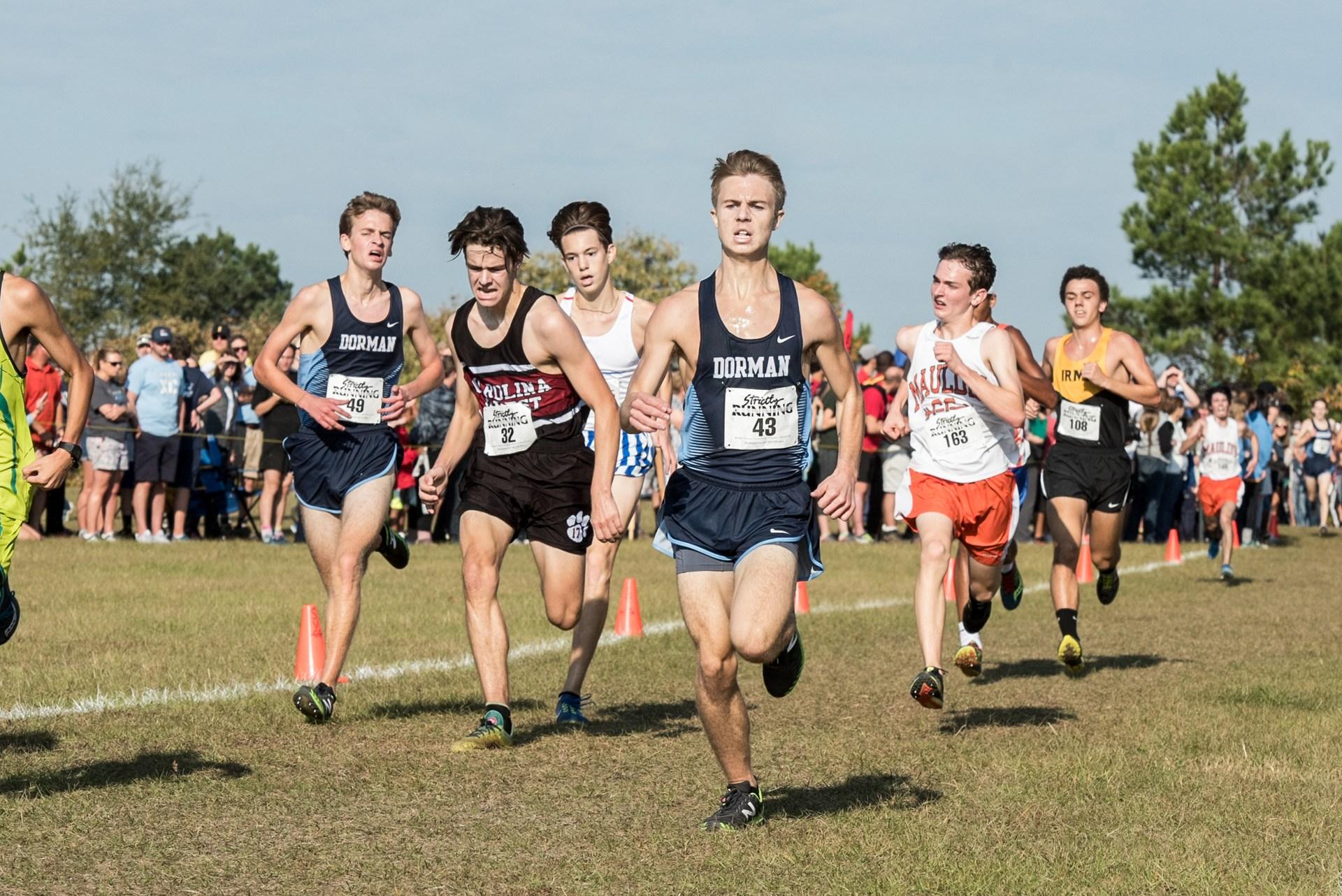 Dorman cross country runner