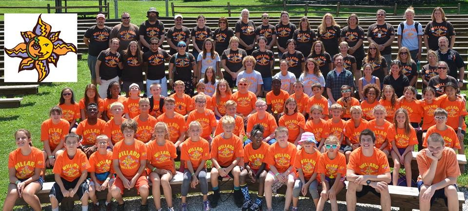 Camp Willard Summer Camp Group