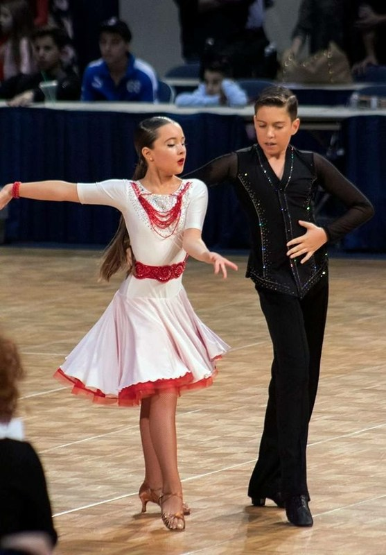 Alice competes in National Ballroom Dance competition in Utah! Thumbnail Image
