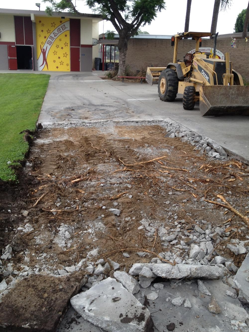 Rancho Starbuck Concrete Repairs