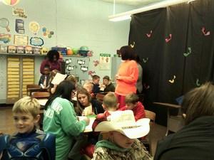kids working