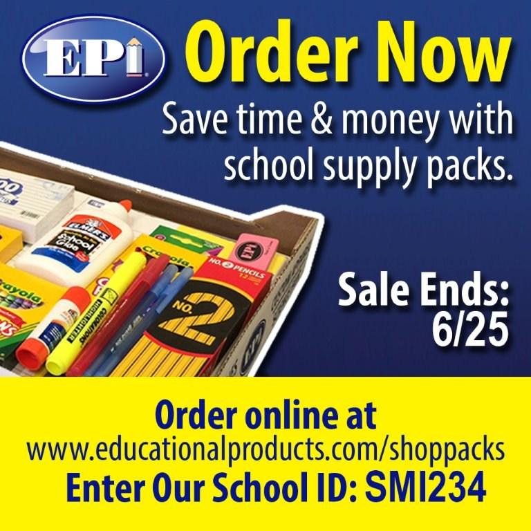 SES 17-18 School Supply Packs Thumbnail Image