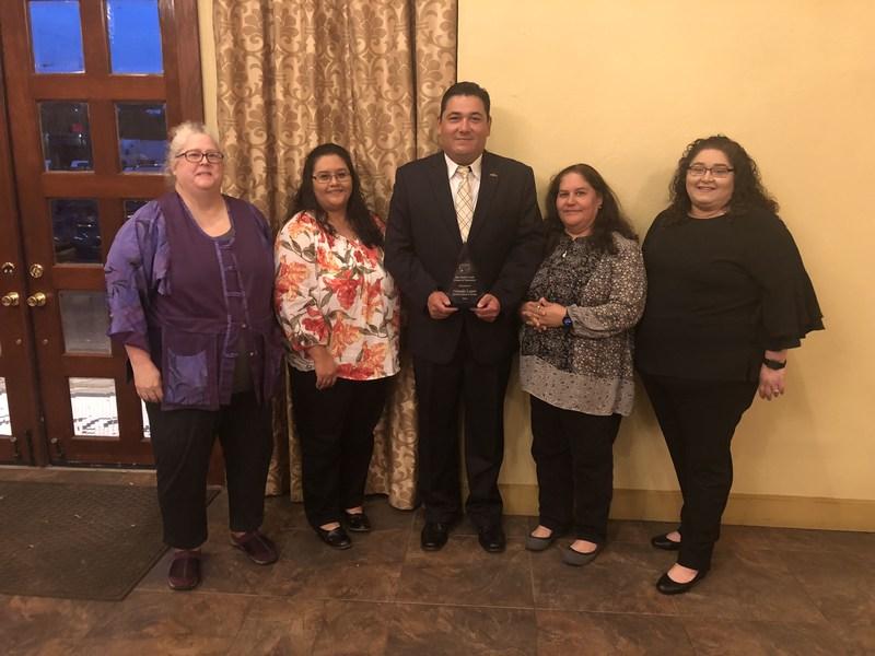 "SBCISD Trustee López recognized as ""Friend of Education"""