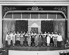 NYI Auditorium in the 1930s