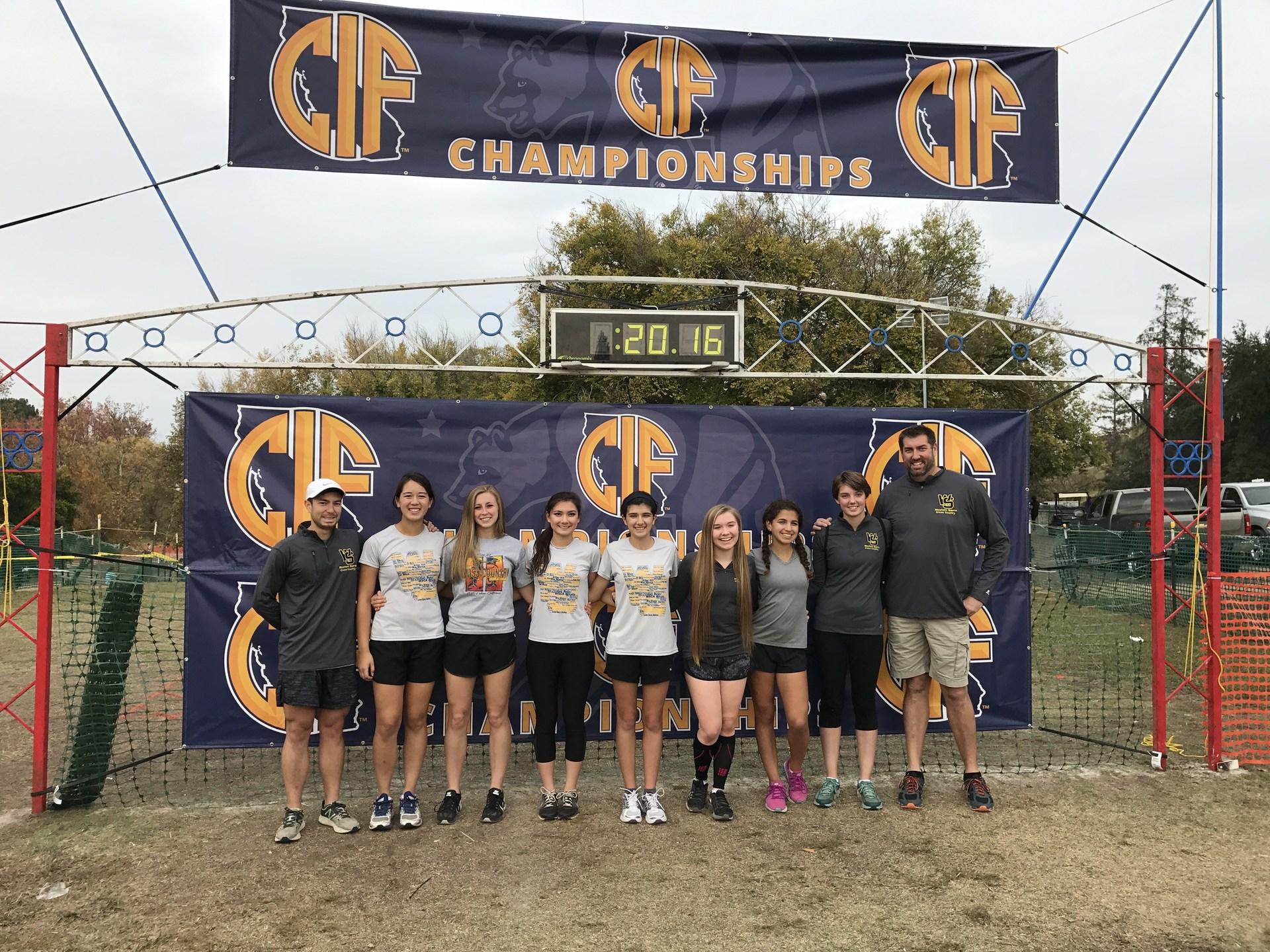 Girls Team at State 2016