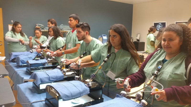 Physiology Students Learn Surgical Techniques at UC Irvine Medical Center Featured Photo