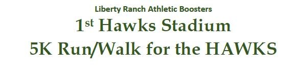 5K Run/Walk for the Hawks - May 12th @ 8:00am Thumbnail Image