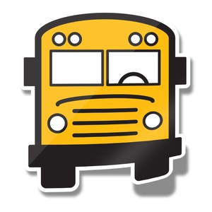 School Bus Decorative Image