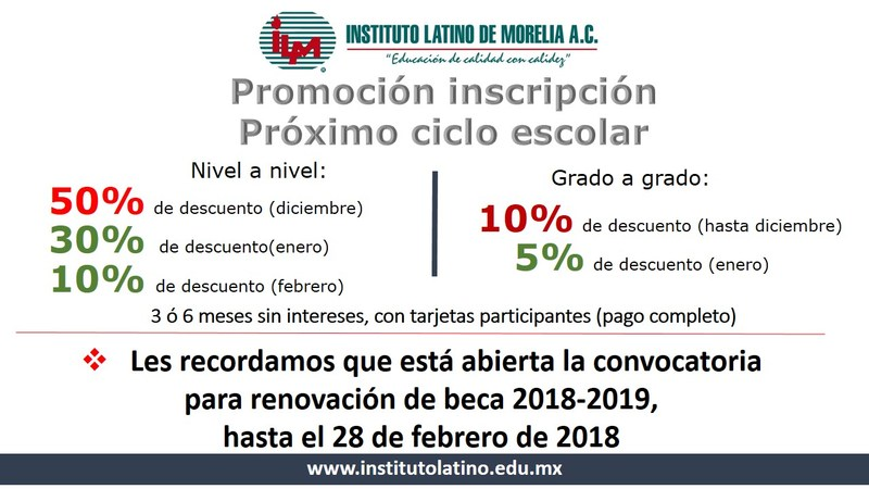 Promoción inscripción Featured Photo