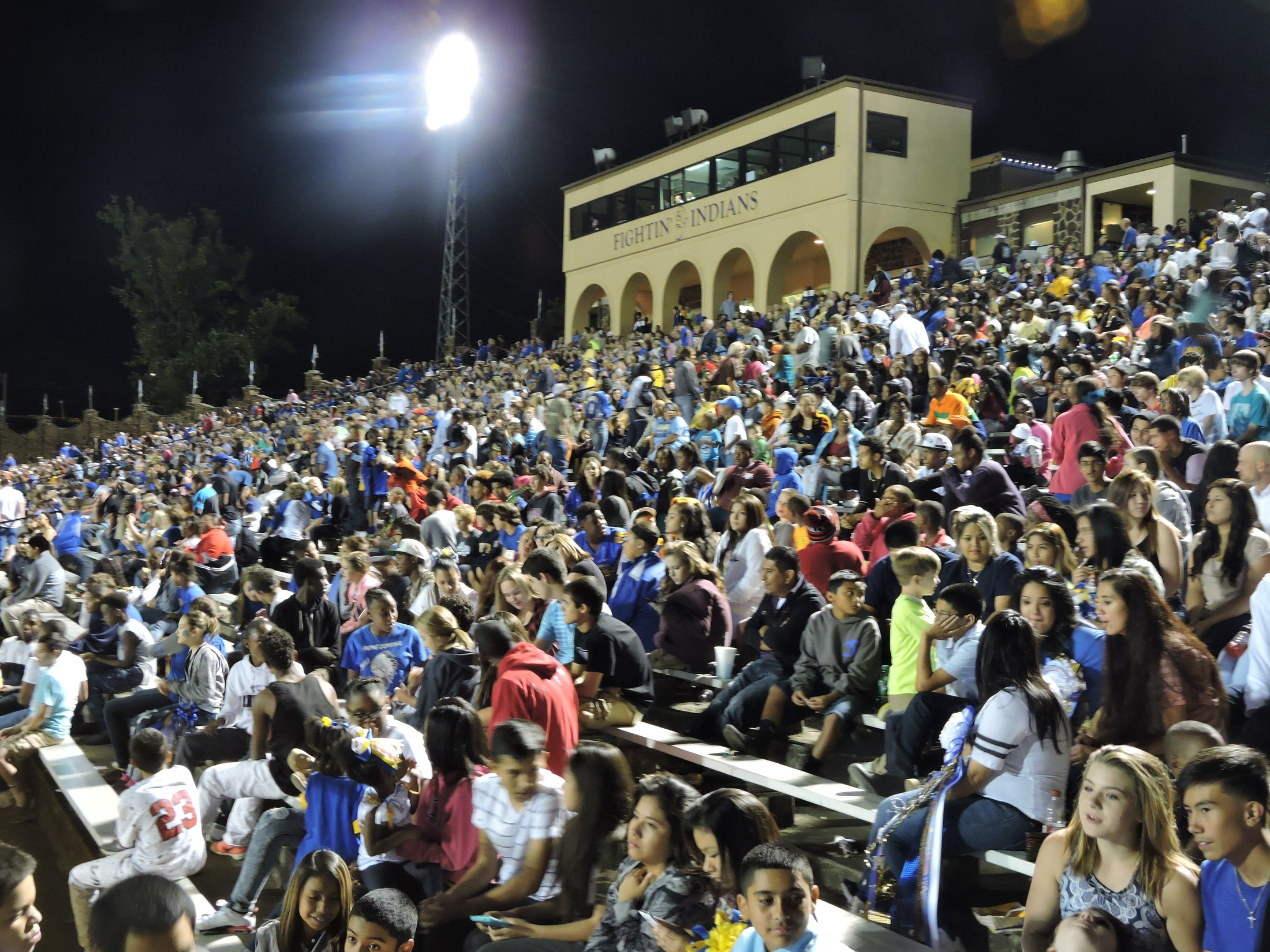 crowd at tomato bowl during a game