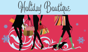 Image of holiday boutique advertisement