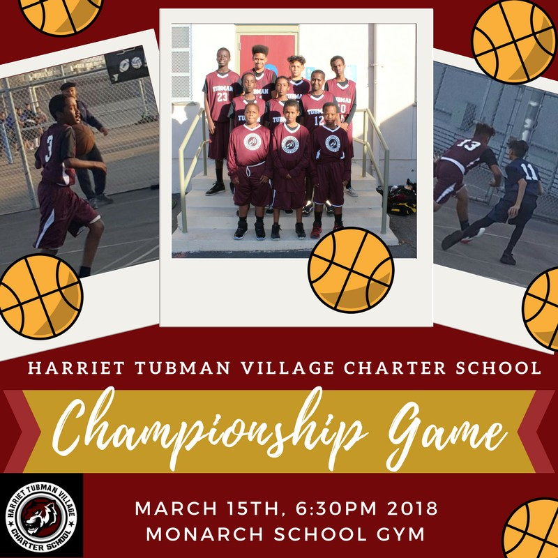 The Tubman Tigers are Going to the Basketball Championships! Featured Photo
