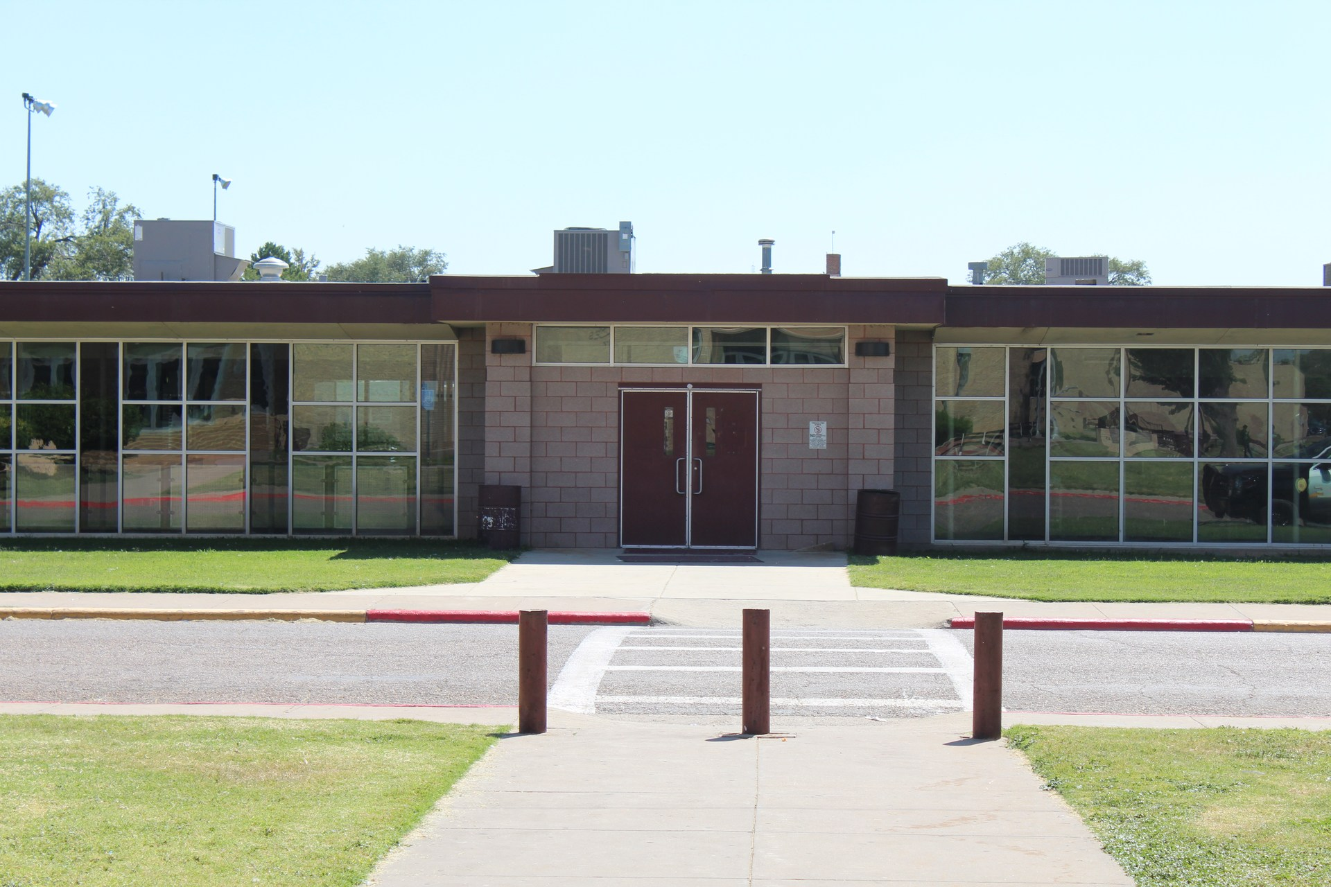 Hereford High school cafeteria