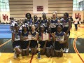 2017-2018 cheerleaders pose with awards