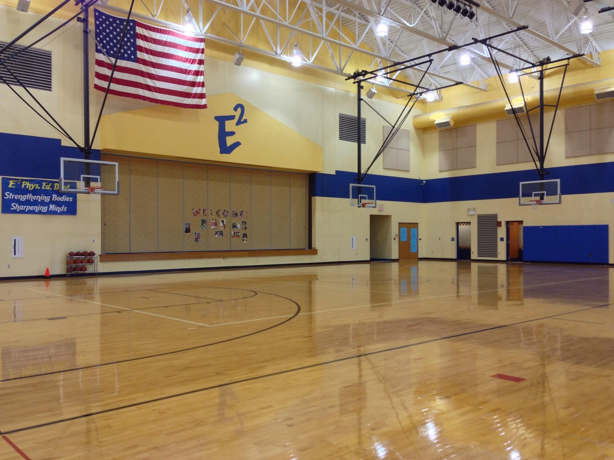 Eastside Elementary gym.