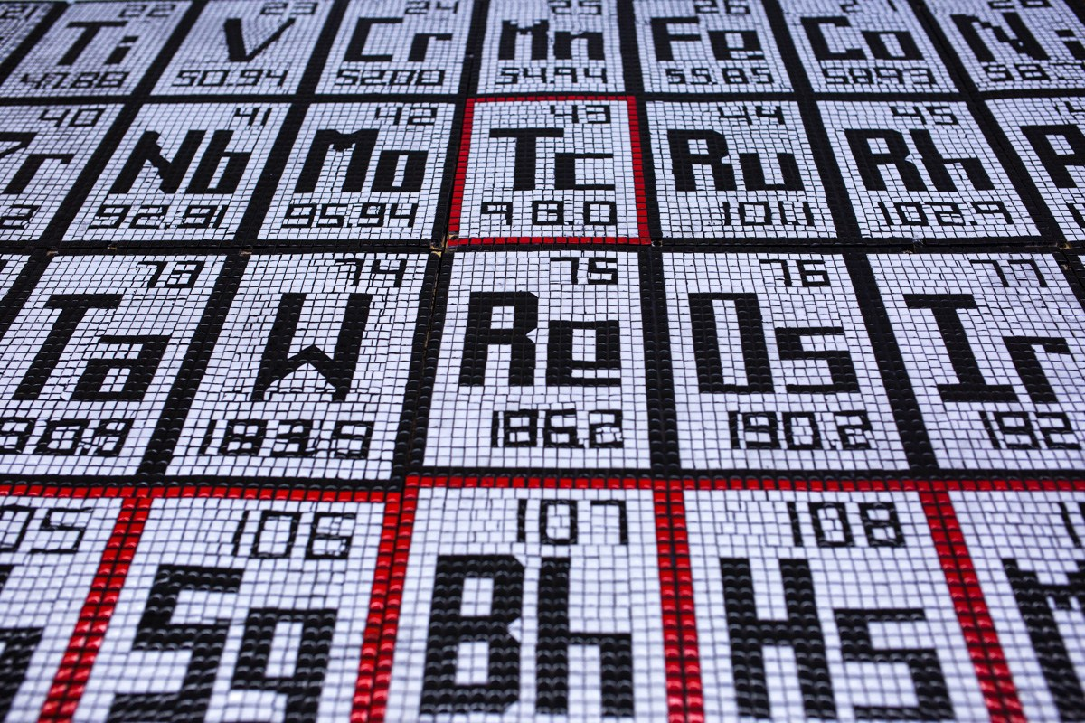 Periodic Table of Elements Mosaic
