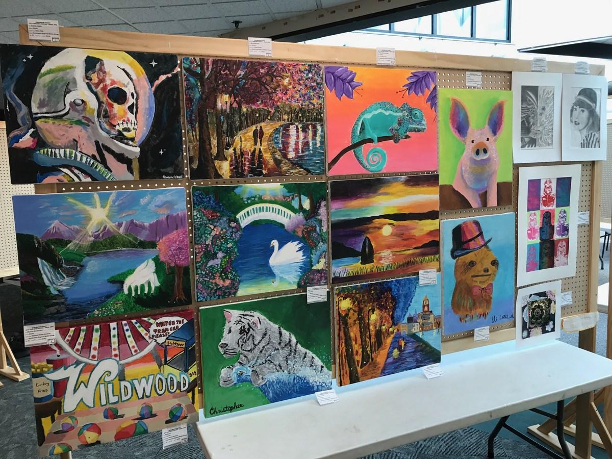 Burlington County Teen Arts Show - BRMS