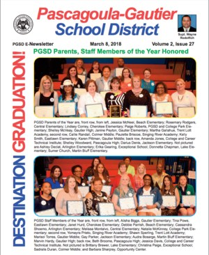 PGSD eNewsletter, Volume 2, Issue 27