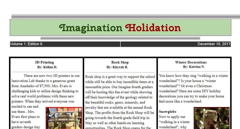 Imagine Dedication Student Newspaper - Read Me! Featured Photo