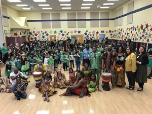 Tribal Dancing Troop at ECC
