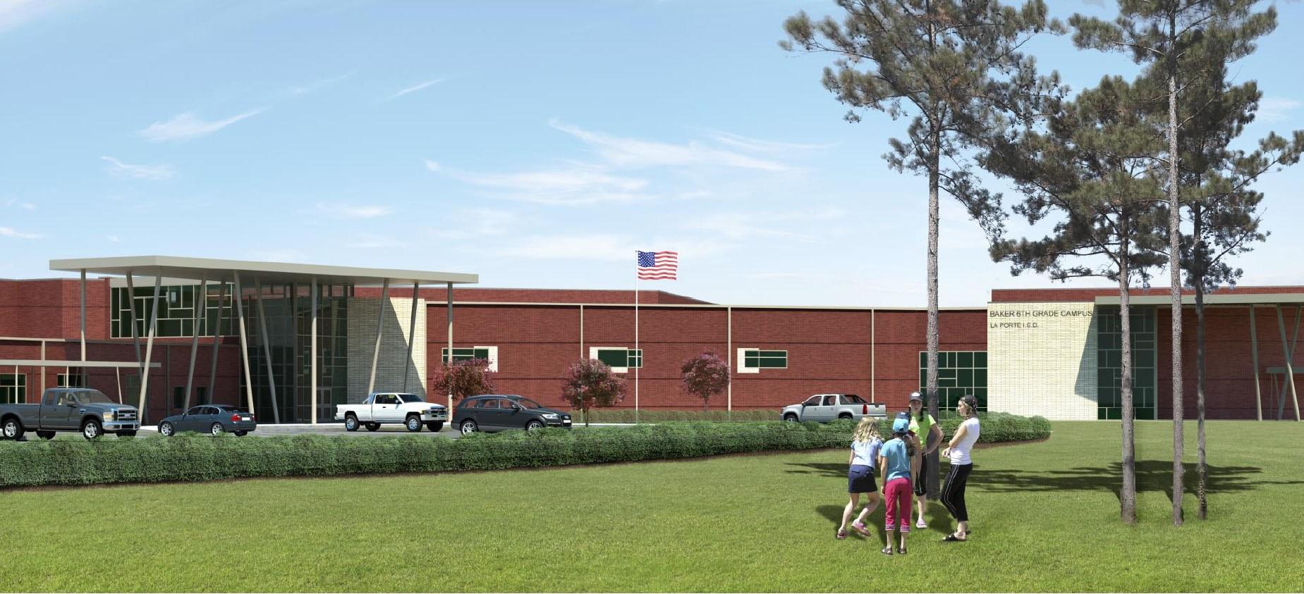 James h baker sixth grade campus 2014 bond program la for La porte independent school district
