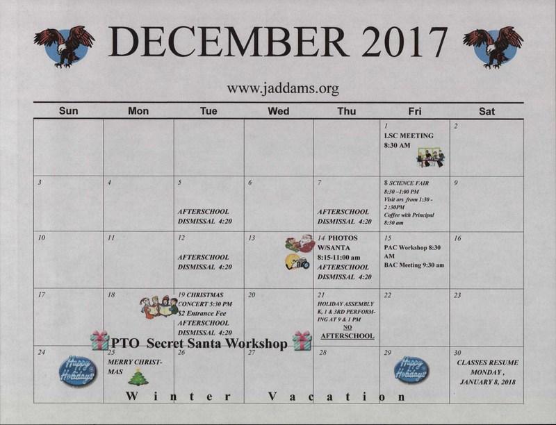 December Calendar Thumbnail Image