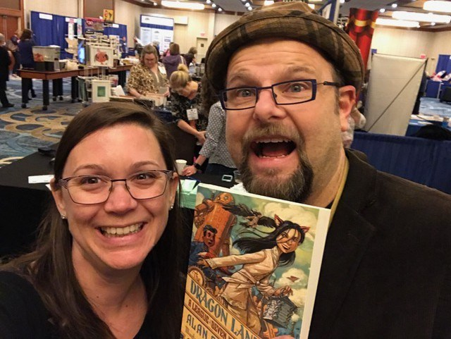 Ms. Near & Alan Gratz