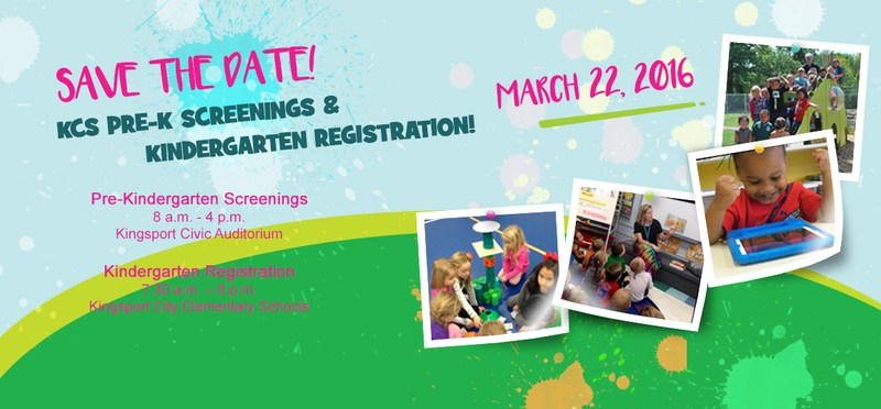 Pre-K Screening / Kindergarten Registration graphic