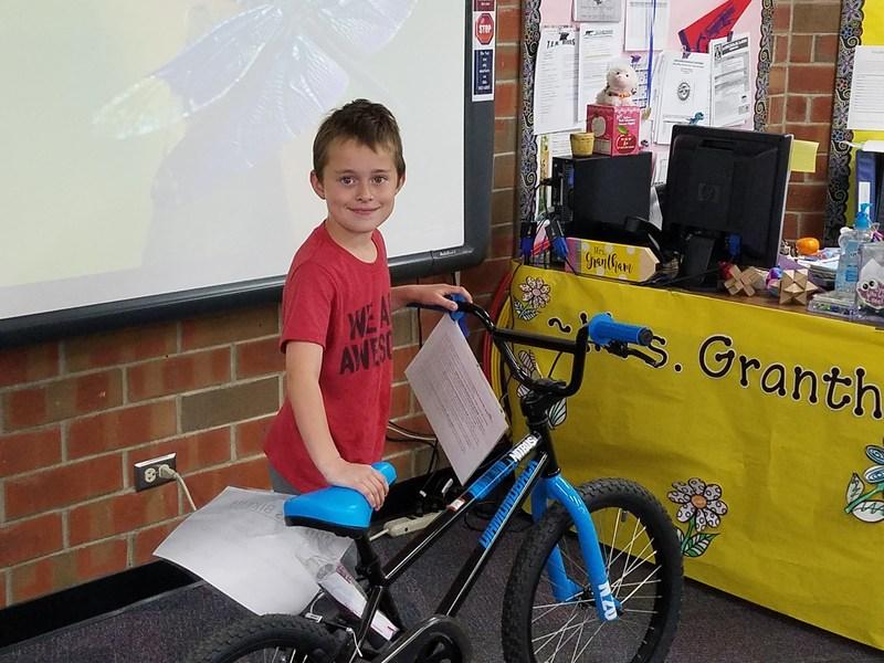 Bicycle Raffle News Thumbnail Image