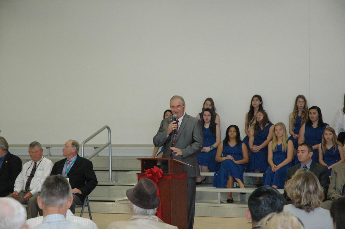 Superintendent Dr. Barry Kayrell