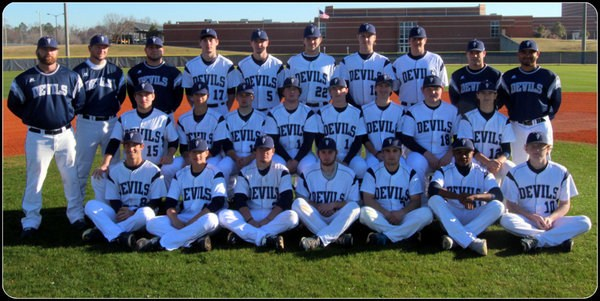 Photo of Blue Devils Baseball Players and Coaches
