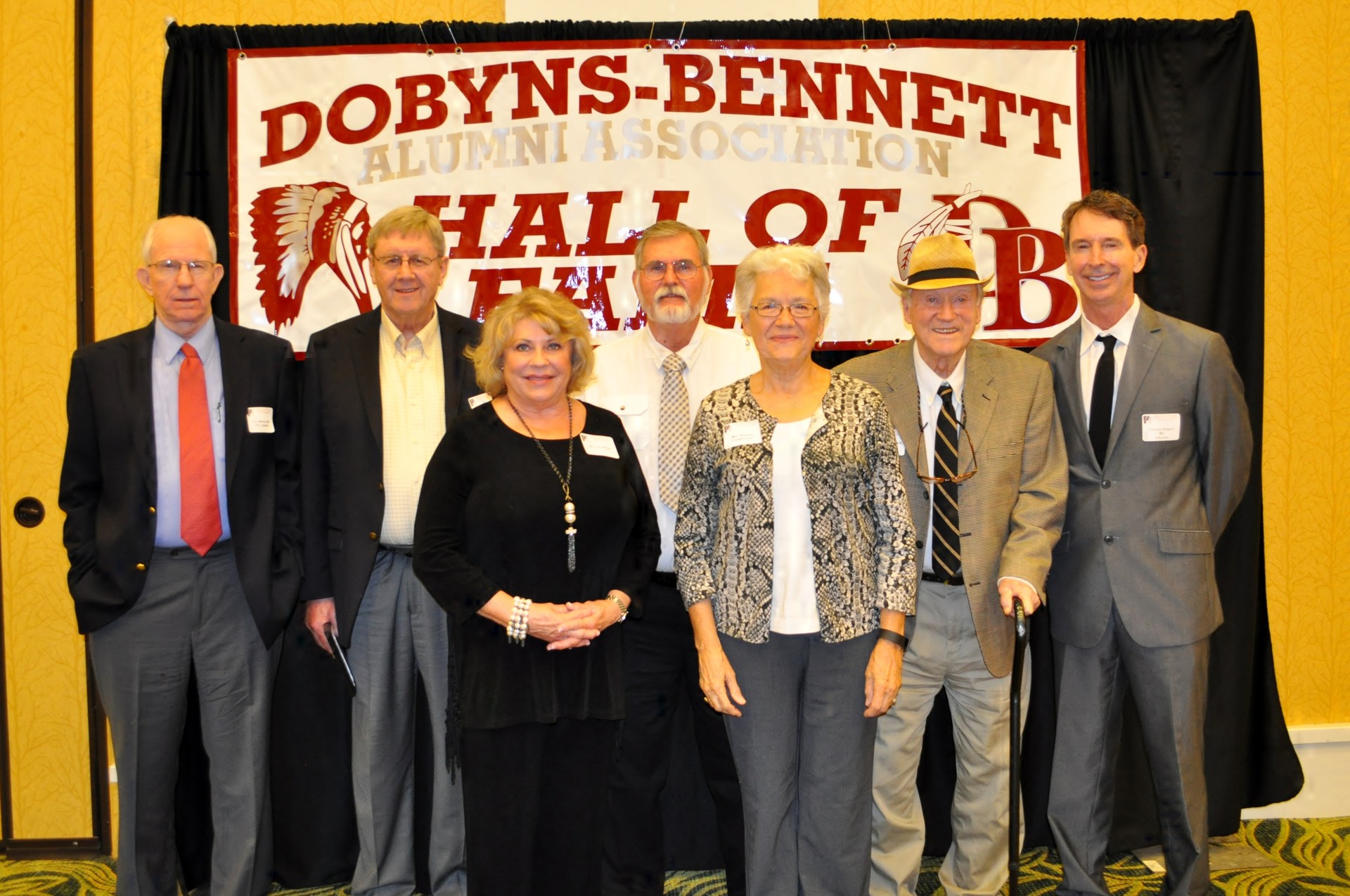 8th Annual Dobyns-Bennett Alumni Hall of Fame Inductees: (5 of 7)