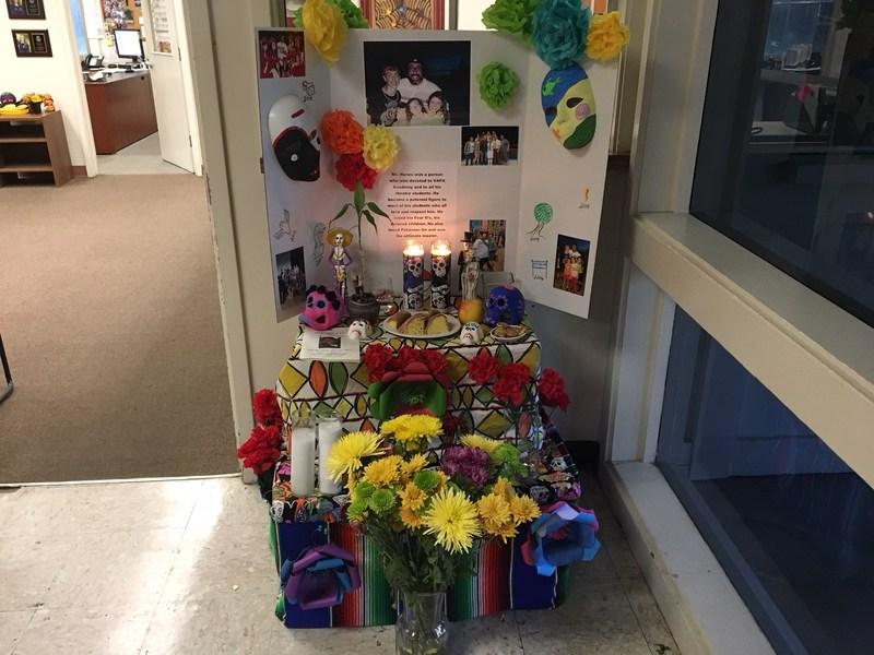 Dia de los Muertos Altar for Mr. Nunes Thumbnail Image