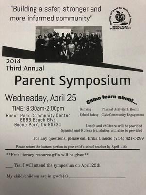 Parent symposium